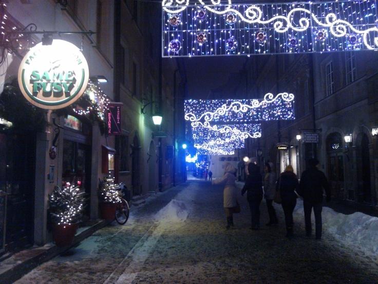 """Same Fusy"" - tea & coffee house,   10 Nowomiejska St.,   Old Town-Warsaw, Poland"