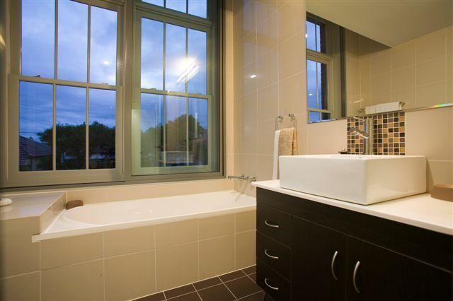 Stylised bathroom