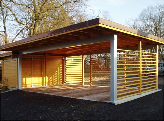 Wood carports plans how to build a easy diy woodworking for Diy 3 car garage