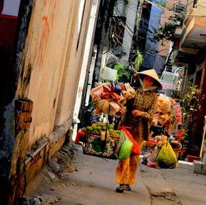 Hverdagsliv i Ho Chi Minh City.