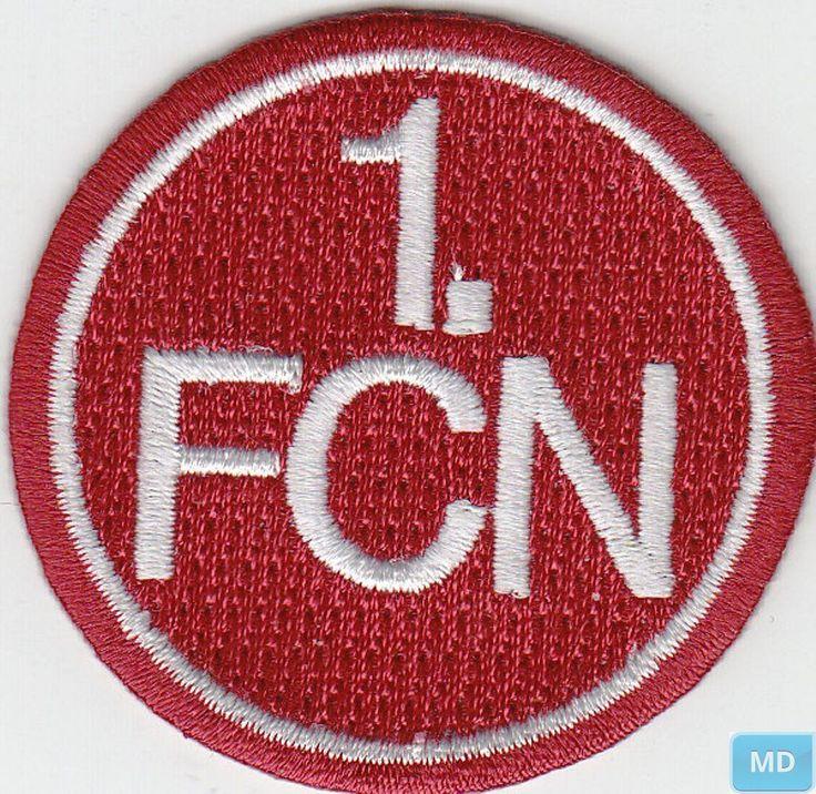 Aufnäher + Aufbügler + 1.FC Nürnberg + Signet 1.FCN 50 mm + Aktuelle Kollektion