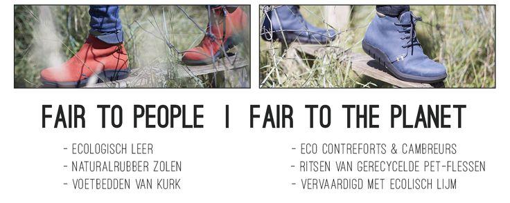 Pretty&Fair ECO schoenencollectie - Pretty&FairShop