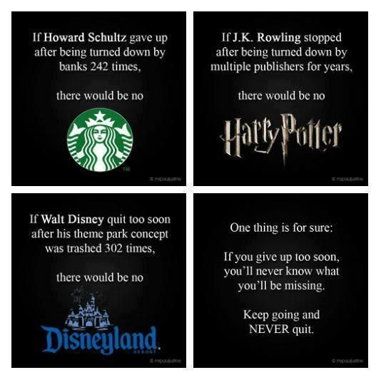 Keep going, never quit.Walt Disney, Remember This, Keep Swimming, Get Motivation, Motivation Quotes, Motivation Mondays, Harry Potter, Inspiration Quotes, Weights Loss