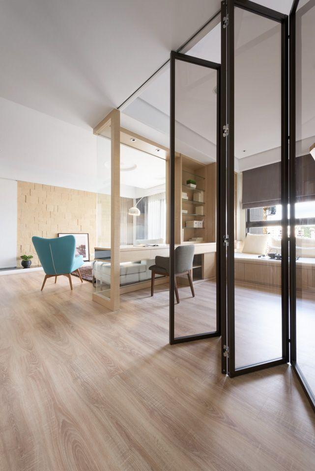 Love the bifold doors but wooden frame instead