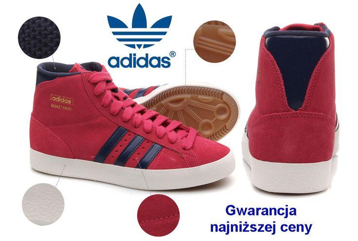 Adidas Basket Profi buty sportowe damskie - 40 2/3