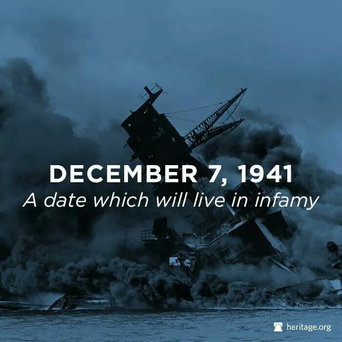 Patriotism and the event at pearl harbor