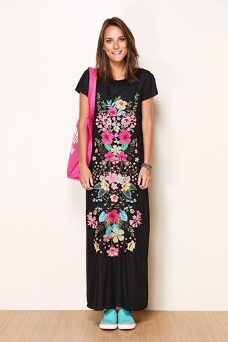 Vestidos mexicanos bordados  5