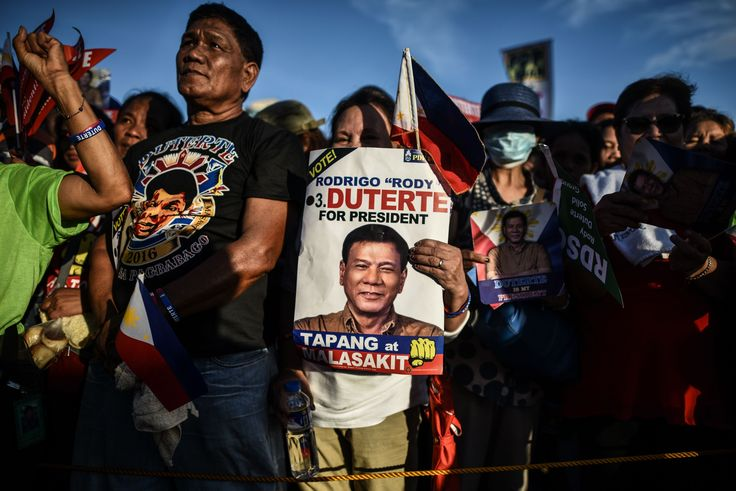Before Duterte was the Philippines' president, he was 'the Death Squad mayor'