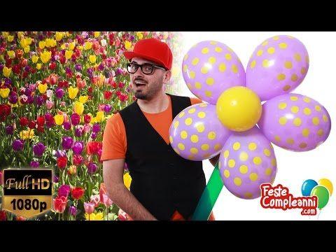 Big Flower Balloon Art - Fiore Gigante Decorazione - Tutorial 158 - YouTube Flower decoration Balloon Art, how to make a big flower with balloon. Fiore gigante con palloncini, come realizzare un fiore per le vostre decorazioni.