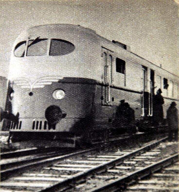 Hargita motorvonat 1955