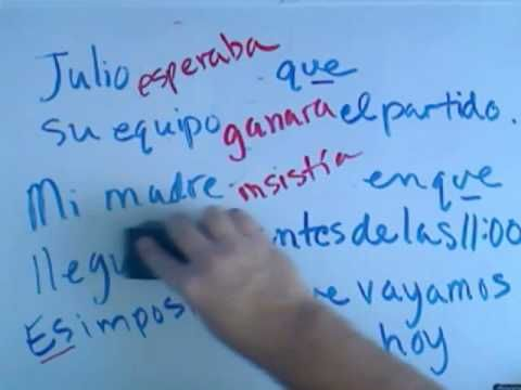 how to use the imperfect subjunctive in spanish