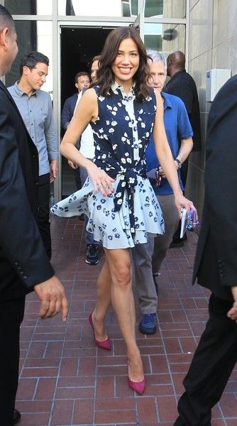 Michaela Conlin Photos Photos - Celebrities are spotted out and about during Comic-Con International 2016 in San Diego, California on July 22, 2016.<br /> <br /> Pictured: Michaela Conlin - Celebrities Are Seen at Comic-Con International 2016 in San Diego - Day 2
