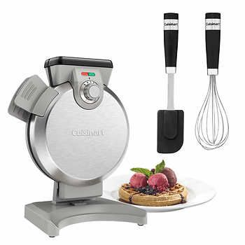 Cuisinart Vertical Waffle Maker with Bonus Whisk and Spatula  $80 Costco Online  or Home Outfitters