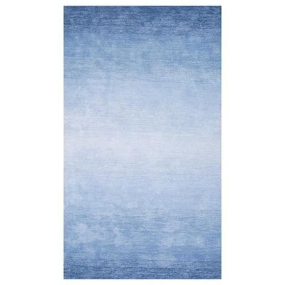 nuLOOM AWVE18B Blue Hand Tufted Ombre Bernetta Area Rug