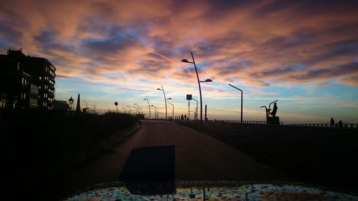 Zonsondergang Scheveningen