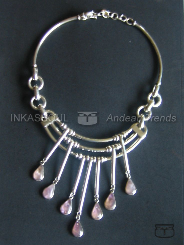 INKASSOUL Andean Necklace in Sterling Silver, Solid 925 Sterling, Jewellery, Bohemian, Gypsy Style Jewelry - www.inkassoul.com