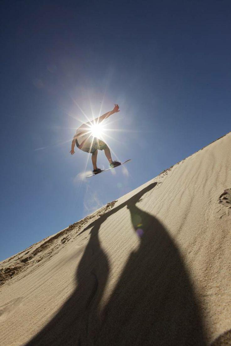 sandboarding in Nelson Mandela Bay