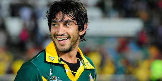 Johnathan Thurston wants to see the Kangaroos revive a pre-match war cry. Photo / Getty