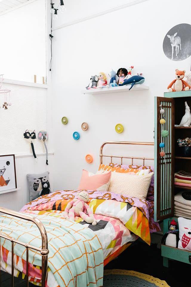 Kids room: Kip & co bedding, pony rider cushion