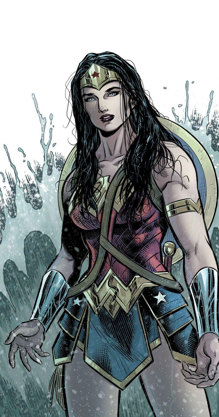Wonder Woman by Ian Churchill