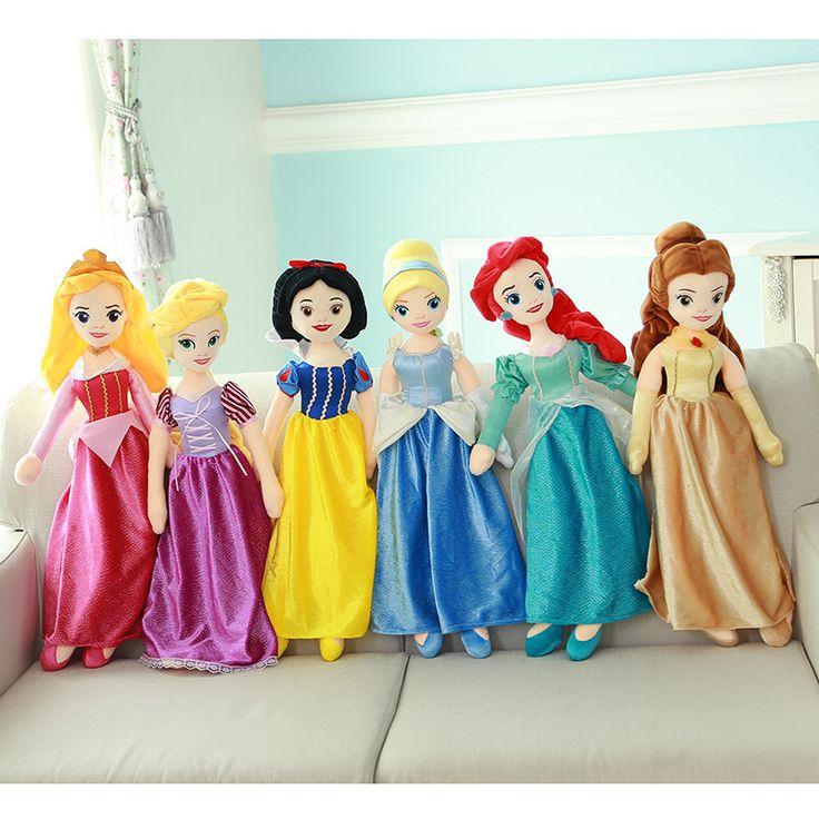 Купить товар65 см Классический Принцесса Русалка Рапунцель Белоснежка Спящая Красавица Золушка Красавица И Чудовище Плюшевые Куклы Для Девочек Детские Игрушки в категории Куклына AliExpress. [xlmodel]-[обычай]-[36634]уоринг promptцвет и размер примечаниевсе размеры являются искусственными измерения, таким обра