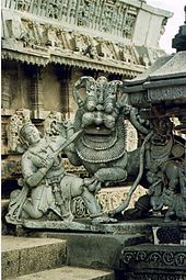 India History - The Hoysala Empire was a prominent South Indian Kannadiga empire that ruled most of the modern day state of Karnataka between the 10th and the 14th centuries. The capital of the Hoysalas was initially located at Belur but was later moved to Halebidu.