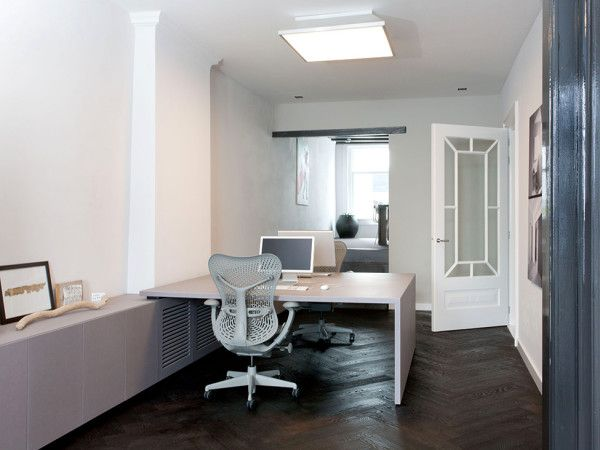 Elegant Office Room from Stylish Interior Design for Modern House by Remy Meijers 600x450 Stylish Interior Design for Modern House by Remy Meijers