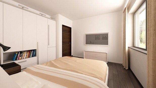Klasyczna, prosta sypialnia. Jak Wam się podoba?