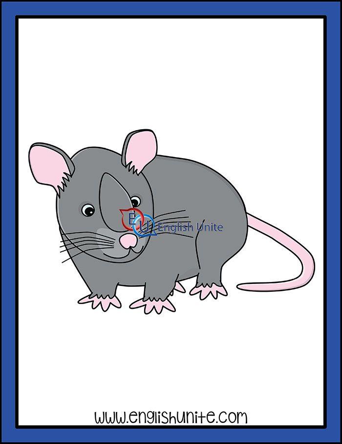 Alphabet Rat Clip Art Clip Art White Image Rats