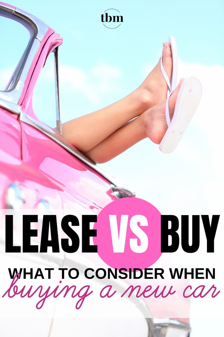 Lease Vs Buy What To Consider When Buying A New Car Lease Vs