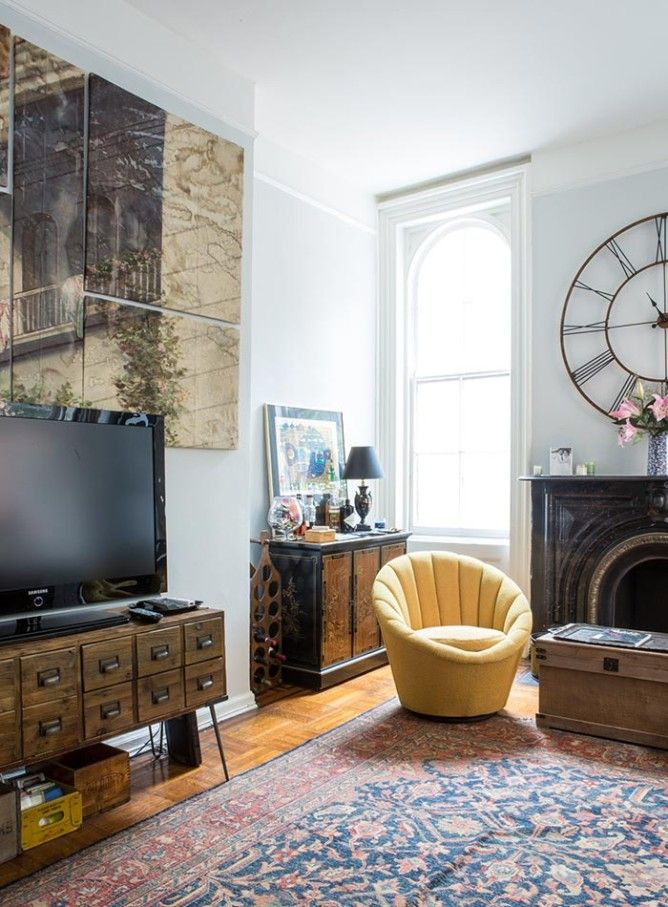 A 150-year-old Apartment in Brooklyn Heights