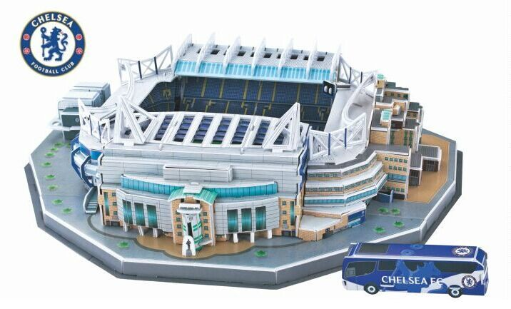 Puzzle stade de foot Stamford Bridge