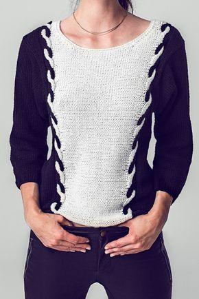 25 einzigartige strickanleitung pullover ideen auf pinterest strickmuster pullover stricken. Black Bedroom Furniture Sets. Home Design Ideas