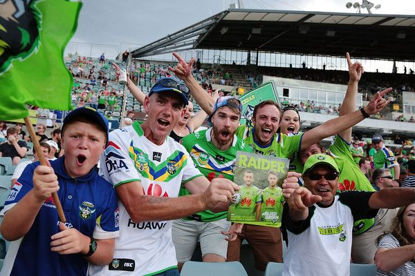 2016 NRL Rd 1 - Canberra Raiders v Penrith Panthers