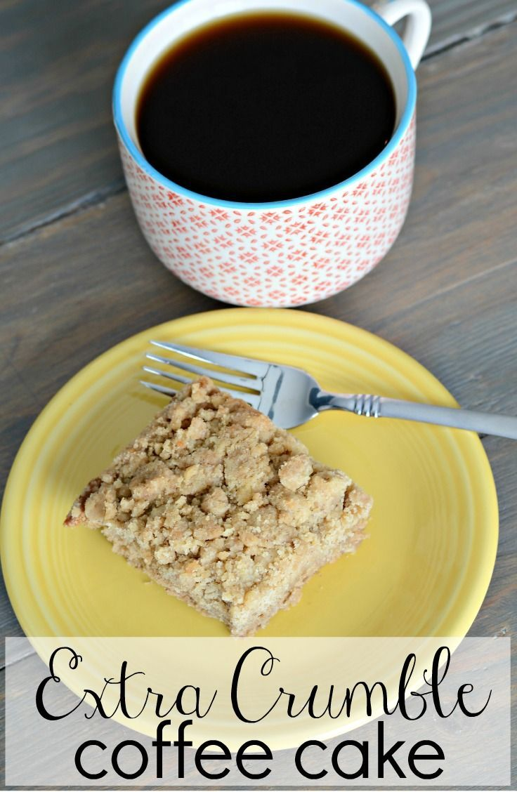 extra crumble coffee cake more cake recipe coffee cakes cakes everyday ...