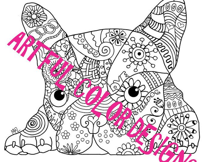 8 best Dog Coloring Pages For Adults