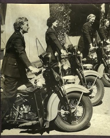 Motorcycle Police Women