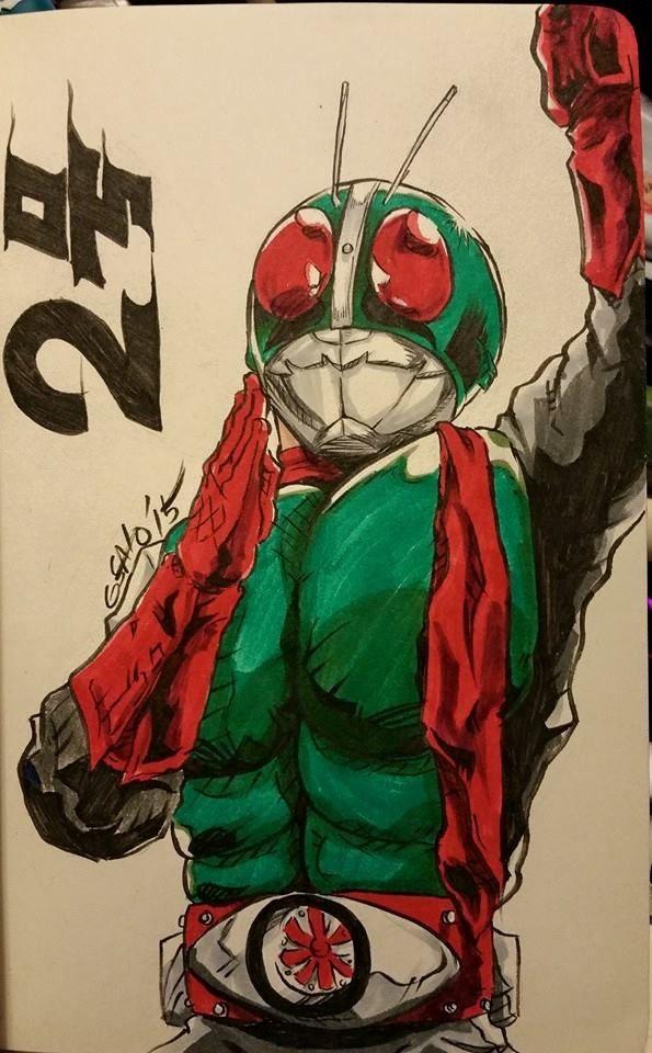 Kamen Rider Nigo by Sato