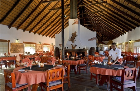 The restaurant at the Canyon Village.