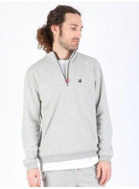 QuarterLife Clothing Half Zip Pullover. Buy @ http://thehubmarketplace.com/quarterlife-clothing-Half-Zip-Pullover-Black-grey