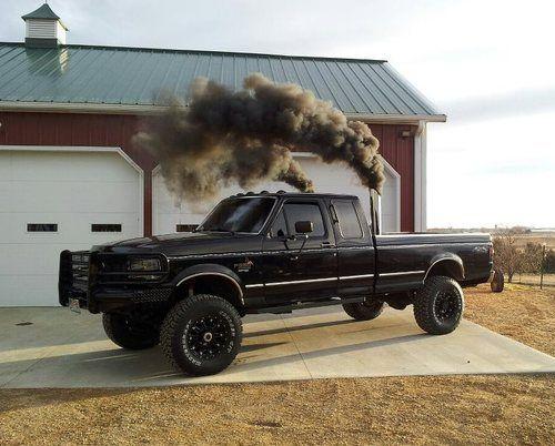 Black smoke dont mean it broke^^