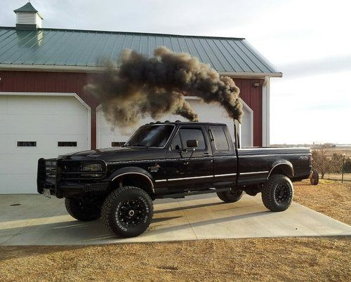 Black smoke dont mean it broke^^