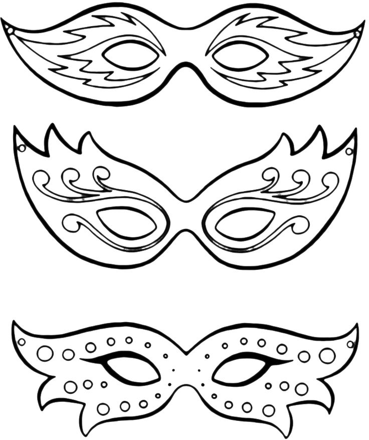 maschere 8