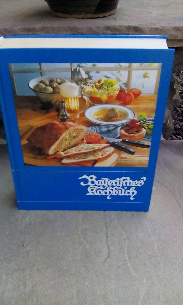1998 Bavarian Cookbook Bayerisches Kochbuch Maria Hoffman German Language by 2CTreasures on Etsy