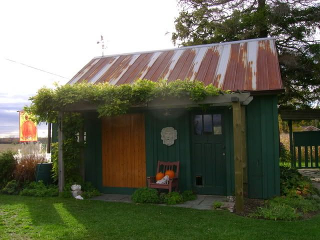 love this reclaimed storage shed several photos from different angles included just what i - Garden Sheds With A Difference
