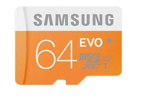 Carte mémoire SAMSUNG micro SD de 8 à 64Go