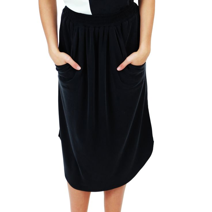 Skirt in modal fabric