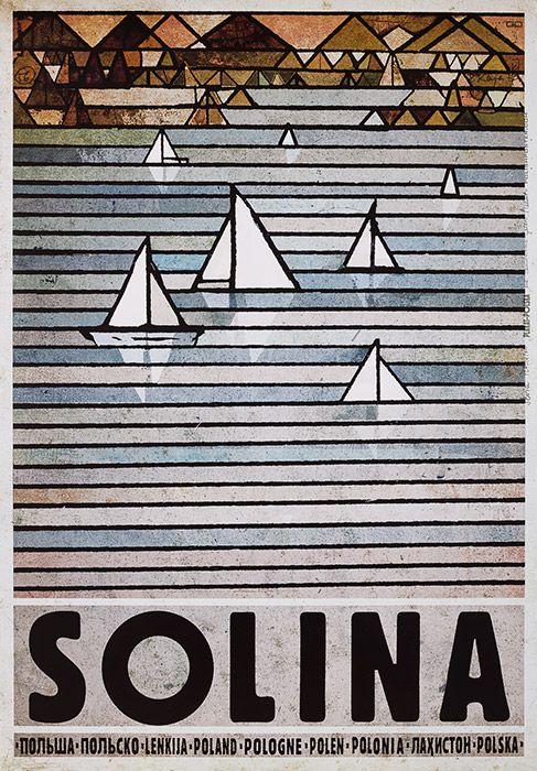 Ryszard Kaja, Polska - SOLINA, 2013, Size: B1