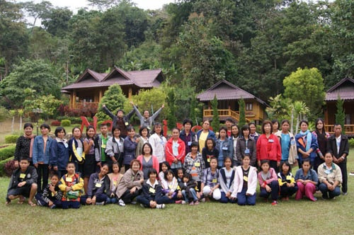 A weekend getaway for The SOLD Project's scholarship students and their families. Chiang Mai, Thailand.
