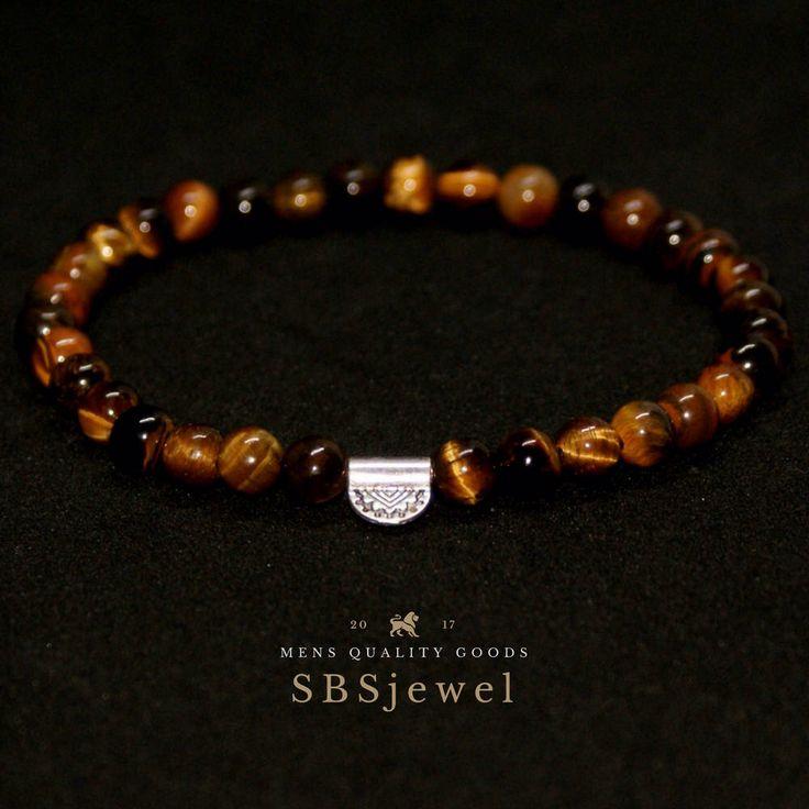 TIGER EYE BRACELET mens tiger eye bracelet tiger eye bead bracelet stone bracelet mens tiger eye bead bracelets gemstone bracelet Tigerauge #jewellery #bracelet #brown #round #beige #gemstone #mensbeadedbracelet #tigereye #tiger #maya #power #success #mensbracelet #beaded #6mm